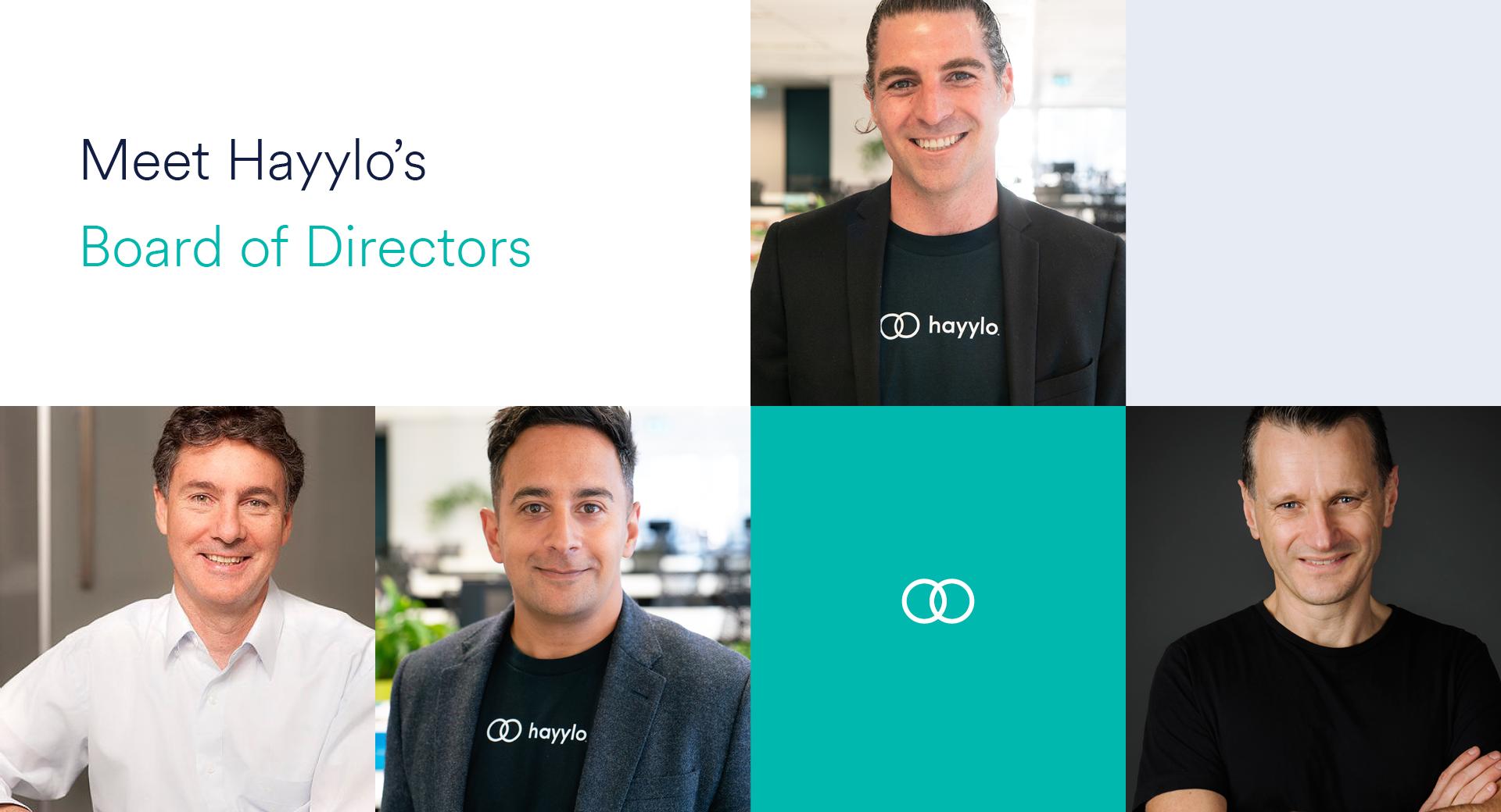 Hayylo Startup Board Directors Chris Gray Michael Panaccio